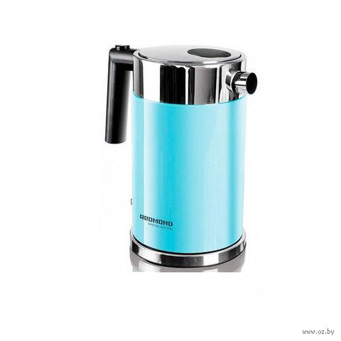 Электрочайник Redmond RK-M119 (голубой) — фото, картинка