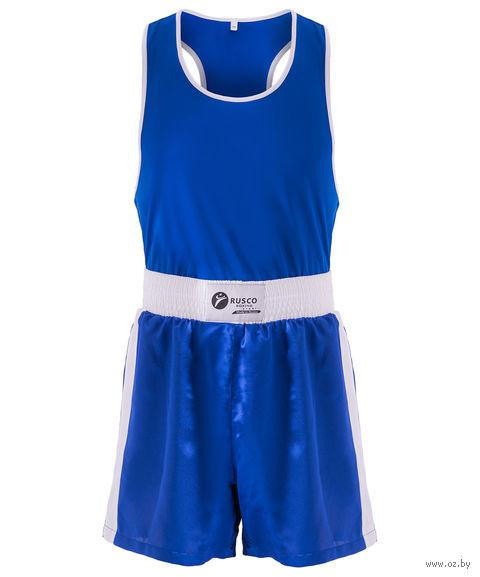 Форма боксёрская BS-101 (р. 48; синяя) — фото, картинка