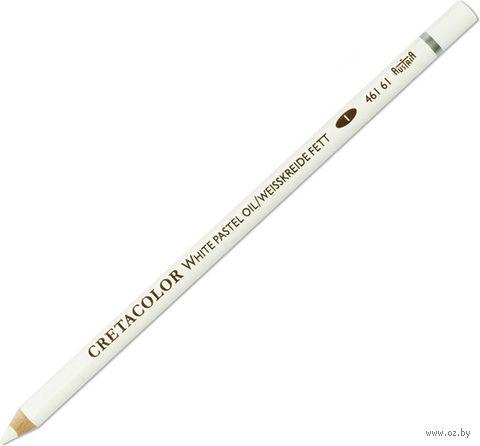 Карандаш художественный (белый мел масляный, мягкий) Cretacolor