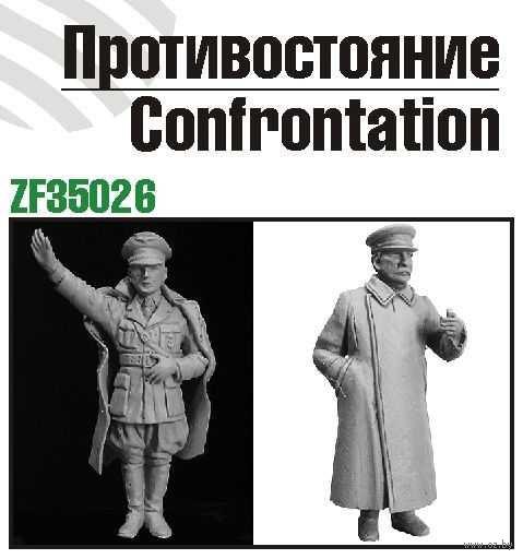 """Набор миниатюр """"Противостояние: Сталин vs Гитлер"""" (масштаб: 1/35) — фото, картинка"""
