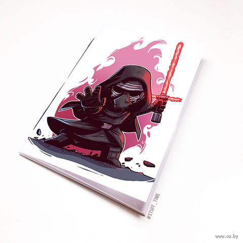"""Блокнот """"Звездные войны"""" (А5; арт. 891) — фото, картинка"""