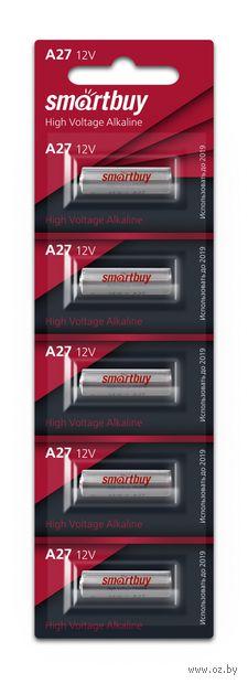 Батарейка алкалиновая Smartbuy A27/5B (100/1000) (SBBA-27A5B) — фото, картинка