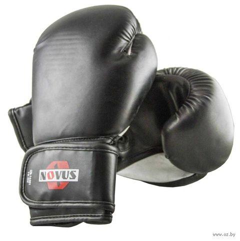 Перчатки боксёрские LTB-16301 (S/M; чёрные; 6 унций) — фото, картинка