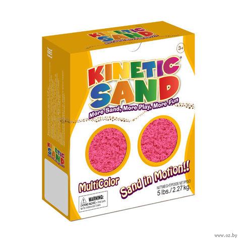 """Кинетический песок """"Kinetic Sand. Розовый"""" (2,27 кг)"""