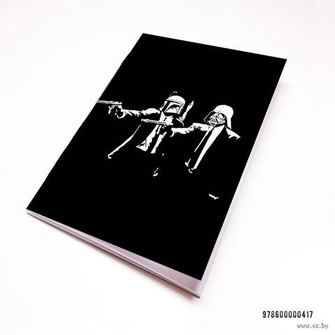 """Блокнот """"Звездные войны. Криминальное чтиво"""" (А7; арт. 417)"""