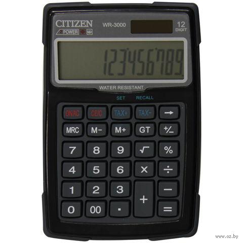Калькулятор настольный WR-3000 (12 разрядов)