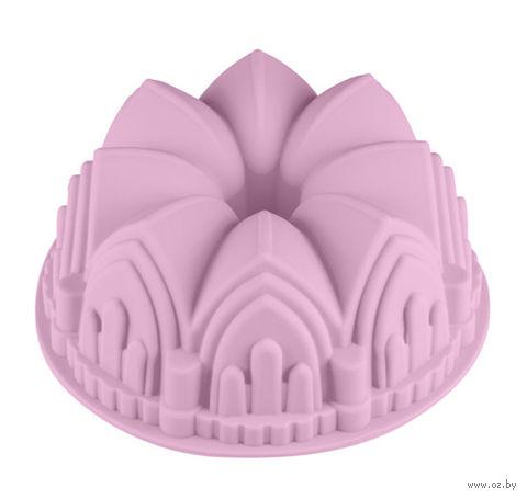 """Форма для выпекания силиконовая """"Шотландский кекс"""" (220х88 мм; лиловая) — фото, картинка"""