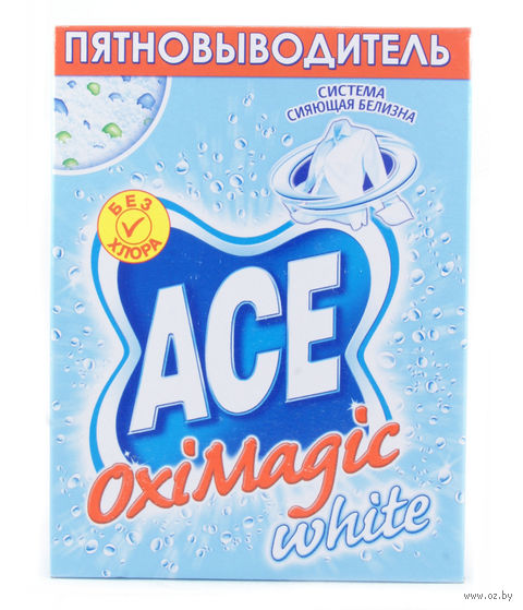 "Пятновыводитель ""Oxi Magic White"" (500 г) — фото, картинка"