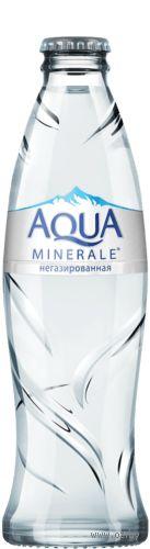"""Вода негазированная """"Aqua Minerale"""" (260 мл) — фото, картинка"""