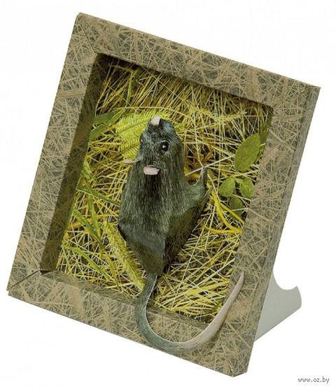 "Аппликация из картона ""Мышка"""