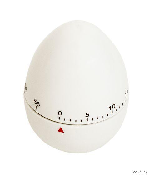 """Таймер кухонный пластмассовый """"Яйцо"""" (56х75 мм)"""