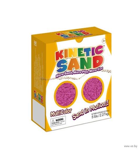 """Кинетический песок """"Kinetic Sand. Фиолетовый"""" (2,27 кг)"""
