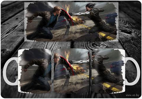 """Кружка """"Капитан Америка"""" (art.5)"""