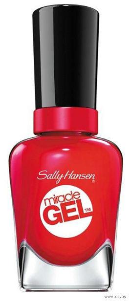 """Гель-лак для ногтей """"Miracle gel"""" (тон: 470, ярко-красный)"""