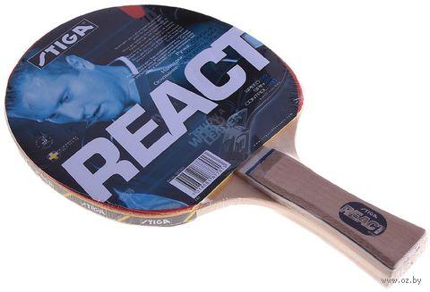 Ракетка для настольного тенниса React — фото, картинка