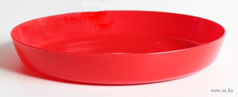 """Подставка для цветочного горшка """"Ага"""" (19,6 см; красная) — фото, картинка"""