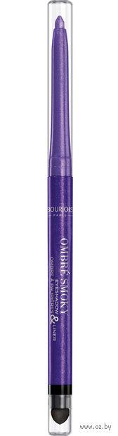 "Подводка-тени для век ""Ombre Smoky Eyeshadow and Liner"" тон: 003, purple — фото, картинка"