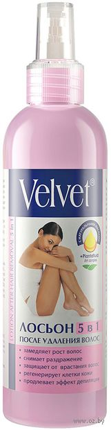 """Лосьон после депиляции 5в1 """"Velvet"""" (200 мл) — фото, картинка"""