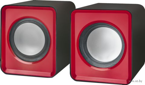 Акустическая система 2.0 Defender SPK 22 (красная) — фото, картинка