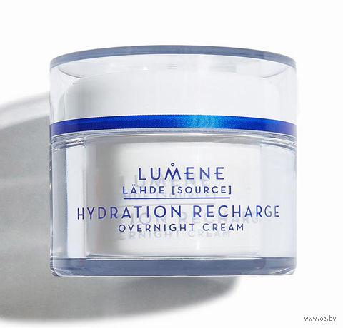 """Ночной крем для лица """"Hydration Recharge Overnight Cream"""" (50 мл) — фото, картинка"""