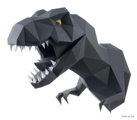 """3D-конструктор """"Динозавр Завр"""" (чёрный) — фото, картинка"""