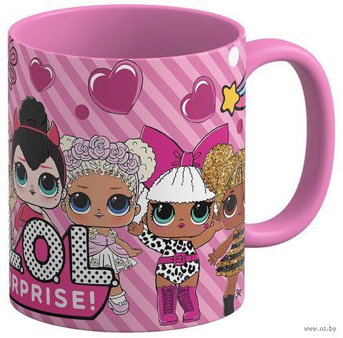 """Кружка """"Куклы LOL"""" (розовая; арт. 3567) — фото, картинка"""