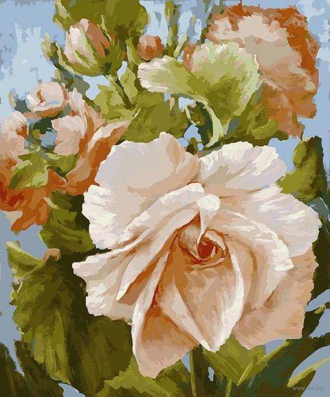 "Картина по номерам ""Роза"" (600х500 мм)"