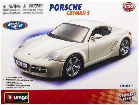 """Модель машины """"Bburago. Porsche Cayman S"""" (масштаб: 1/32) — фото, картинка"""