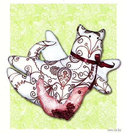 """Набор для шитья из ткани """"Китти - хранительница снов"""" — фото, картинка"""