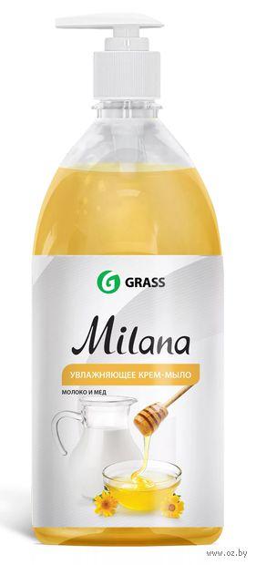 """Жидкое мыло """"Молоко и мед"""" (1 л) — фото, картинка"""