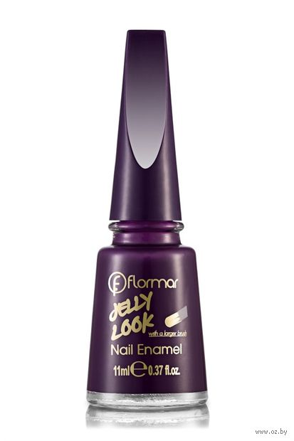 "Лак для ногтей ""Jelly Look Nail Enamel"" (тон: 08, plum) — фото, картинка"
