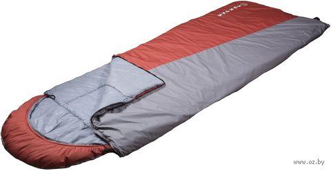 """Спальный мешок """"Эксперт"""" (-15 °C; серо-терракотовый) — фото, картинка"""