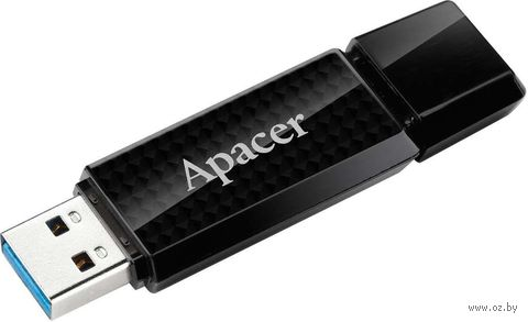 USB Flash Drive 8Gb Apacer AH 352 USB 3.0 (Black)