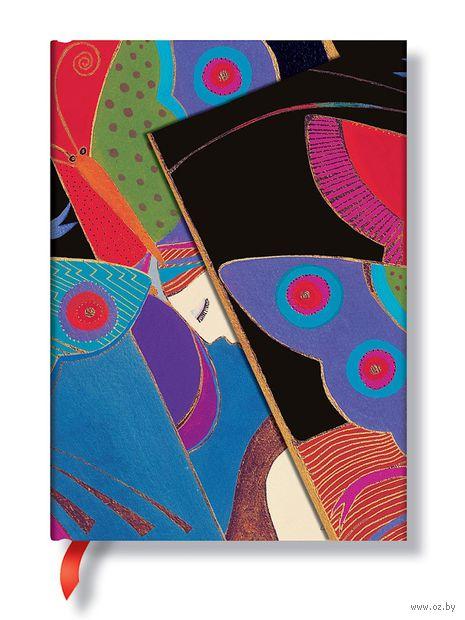"""Записная книжка Paperblanks """"Сон в летнюю ночь"""" в линейку (формат: 130*180 мм, средний)"""