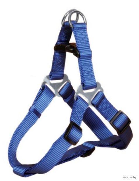 """Шлея для собак """"Premium Harness"""" (размер S; 40-50 см; синий)"""