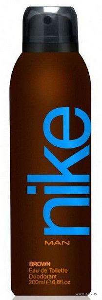 "Дезодорант парфюмерный для мужчин ""Nike. Brown"" (200 мл)"