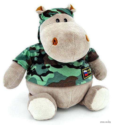 """Мягкая игрушка """"Бегемот Военный"""" (50 см)"""