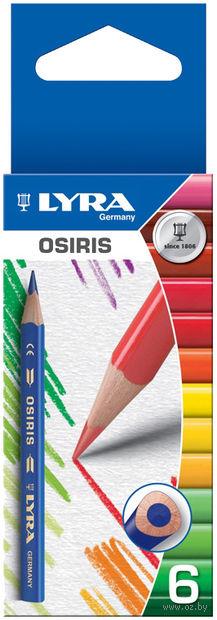 """Набор карандашей цветных """"Osiris Shot"""" (6 цветов)"""