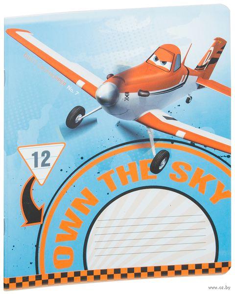 """Тетрадь в линейку """"Planes"""" (12 листов; в ассортименте)"""