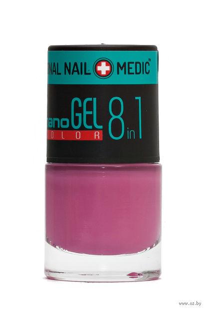 """Лак для ногтей """"Nano Gel Color"""" (тон: 21, розовый перламутр) — фото, картинка"""