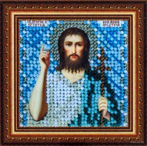 "Вышивка бисером ""Св. Иоанн Предтеча"" (65х65 мм) — фото, картинка"