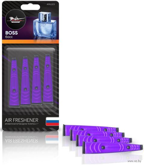 "Ароматизатор ""Клипса-1"" (Boss; арт. AFKL023) — фото, картинка"