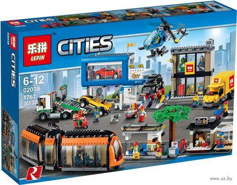"""Конструктор Cities """"Городская площадь"""" — фото, картинка"""