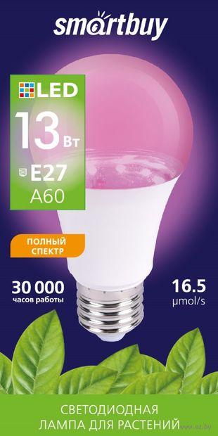 Лампа светодиодная (LED) Фито A60-13W/E27 — фото, картинка