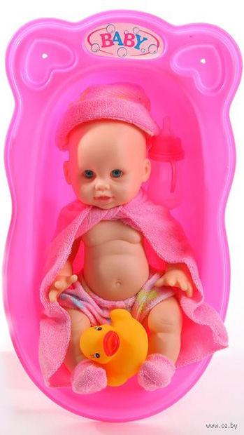 """Пупс в ванне """"Baby"""" (арт. Д61645)"""