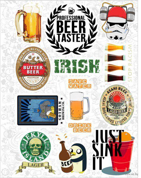 "Набор виниловых наклеек №25 ""Beer"" — фото, картинка"
