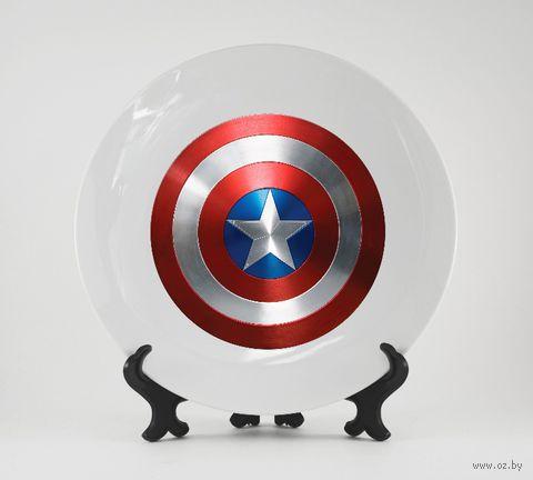 """Тарелка """"Капитан Америка"""" (арт. 316)"""
