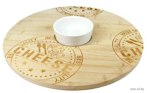Набор для подачи сыра и закусок (2 предмета, арт.CBK92181) — фото, картинка