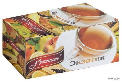 """Чай черный """"Prestige. Экзотик"""" (20 пакетиков) — фото, картинка"""