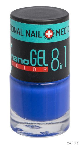 """Лак для ногтей """"Nano Gel Color"""" (тон: 20, ярко-васильковый) — фото, картинка"""
